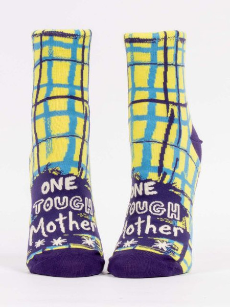 one tough mother womens ankle socks