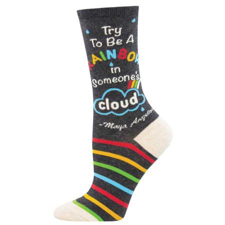 be a rainbow womens socks