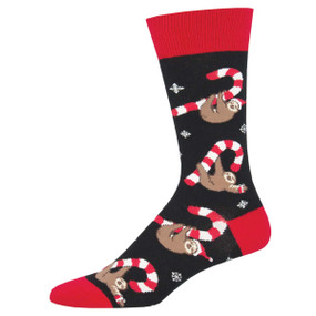 merry sloth mens socks