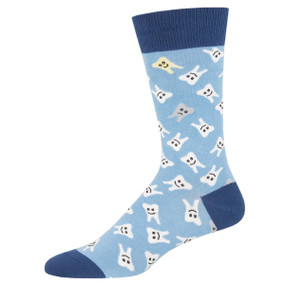 happy teeth mens socks