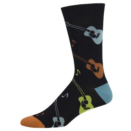 listen to the music mens socks