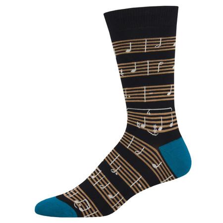 sheet music mens socks