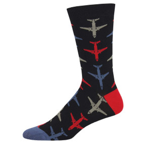 airplane mens socks