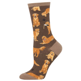 golden retrievers womens socks