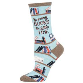 so many books so little time womens socks