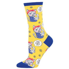 we can mew it womens socks