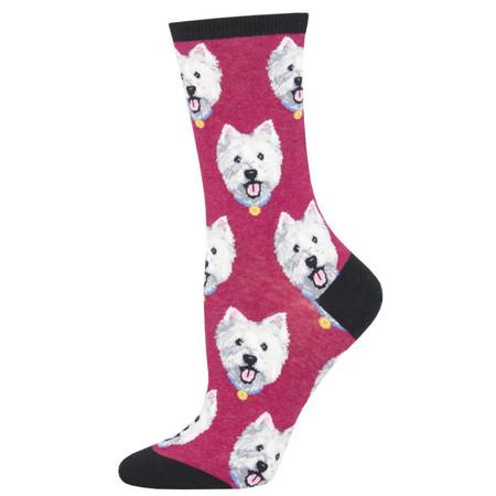 westies womens socks