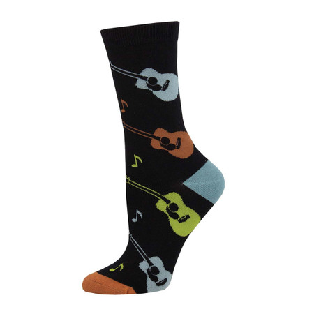 listen to the music womens socks