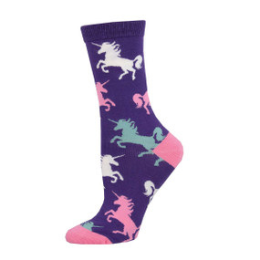 dream big unicorn womens socks