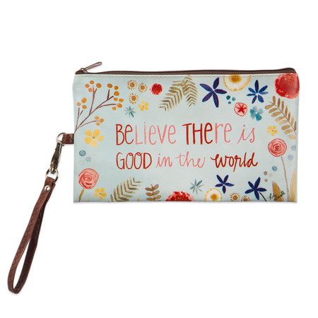good things in the world zippered bag