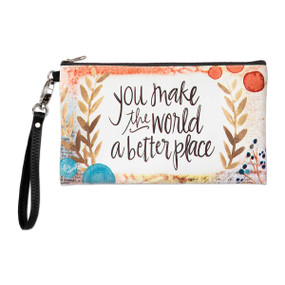 a better place zippered bag
