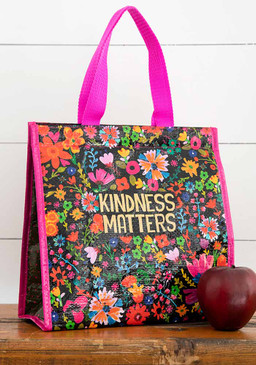 kindness matters insulated lunch bag