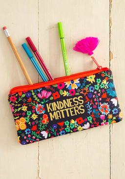kindness matters  pencil pouch