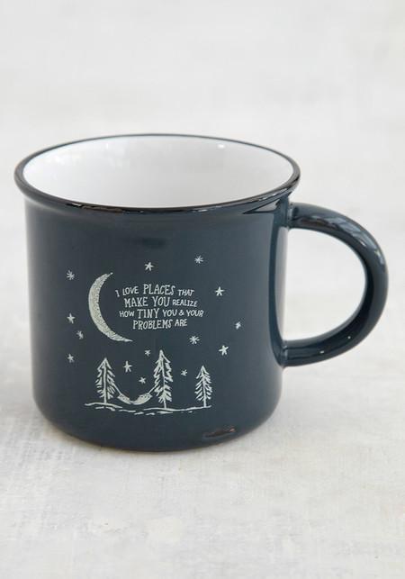 I love places camp mug