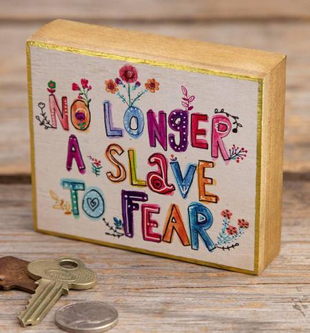 slave to fear tiny block