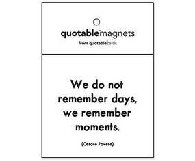 we do not remember days magnet