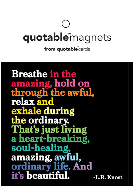 breathe in the amazing magnet