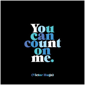 you can count on me friendship card