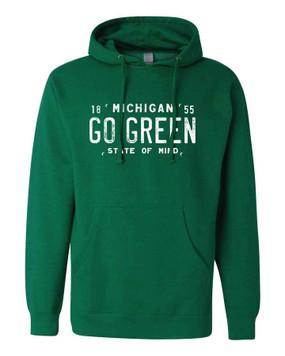 go green hoodie unisex