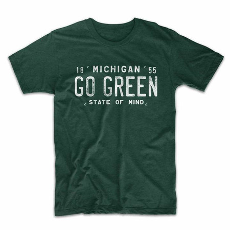 Go Green Michigan State t-shirt