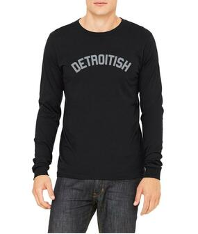 detroitish long sleeve tee unisex