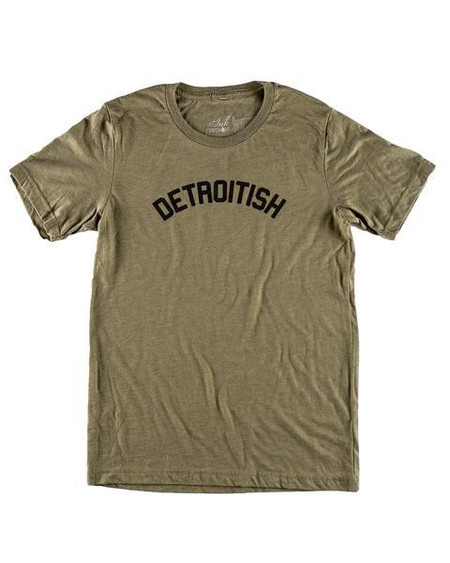 detroitish unisex t-shirt