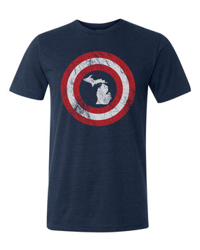 MI Michigan hero tee unisex, small