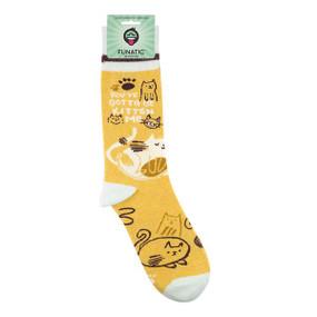you gotta be kitten me womens socks