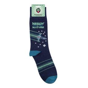 nerdy by nature mens socks