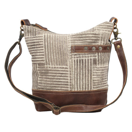 coffee shoulder bag, front