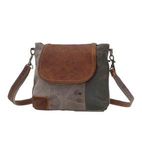 flap over shoulder bag, front