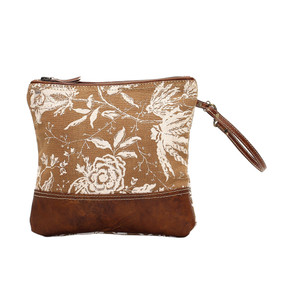 rose print small bag, front