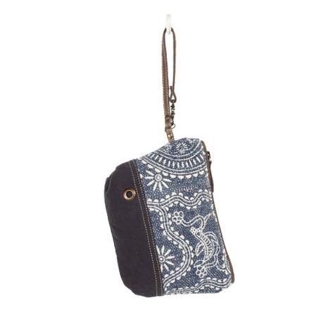 kilim classical design pouch, front
