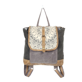 daisy delight backpack bag, front