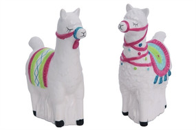 llama love salt and pepper shakers