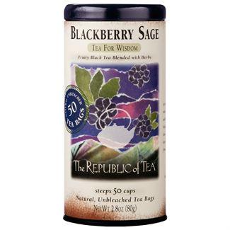 blackberry sage tea