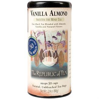 vanilla almond tea