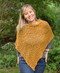 lost river popcorn knit poncho