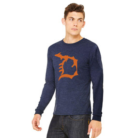 hn michigan d long-sleeve unisex t-shirt