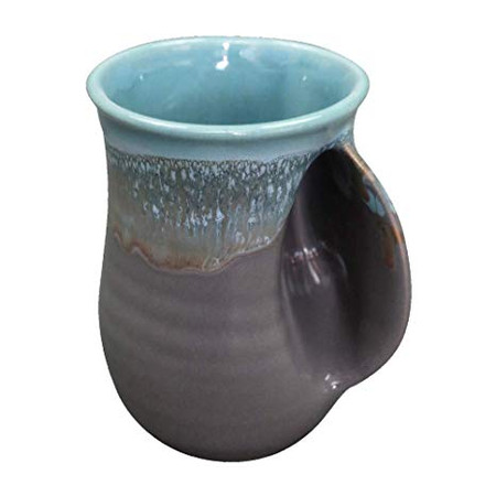 riverstone handwarmer mug, right handed