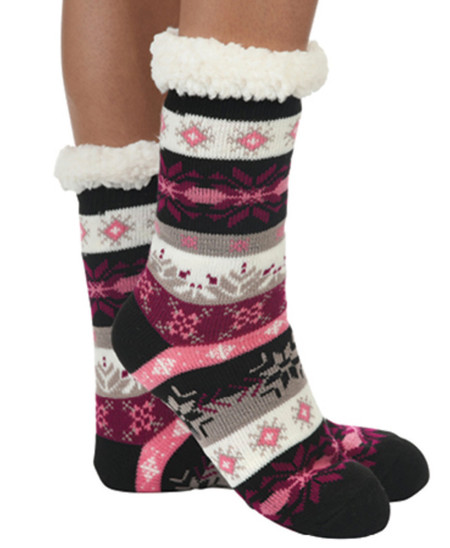 super soft sherpa socks by snoozies