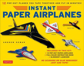 instant paper airplanes kit