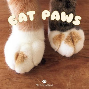cat paws book, front cover