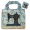 stitch fabric foldable bag