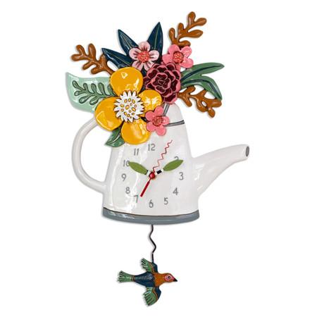 blossoms pendulum clock