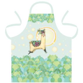 llama love apron
