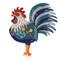 rise n' shine rooster pendulum clock