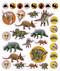 eyelike stickers: dinosaurs, inside