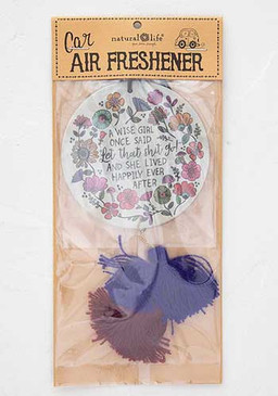 wise girl once said air freshener