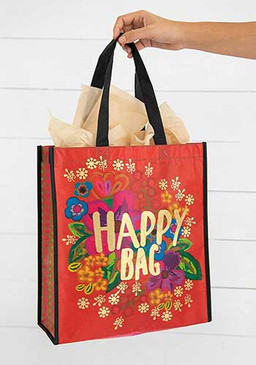 red floral XL happy bag